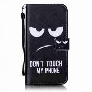 Taltech Wallet Cover for iPhone 7 Plus/8 Plus - Angry Face