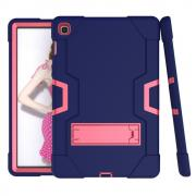 "Taltech Shock-Proof TPU Hybrid Case for Samsung Galaxy Tab S5e 10.5"" - Blue/Pink"