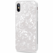 Celly Celly Pearl Case for iPhone X-XS - White