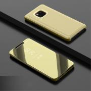 Taltech Cover Transparent Front for Huawei Mate 20 Pro - Gold