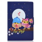 Taltech Tablet Case with Card Slots for iPad 10.2 2019/2020 - Owls