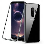 Case Tempered Glass for Samsung Galaxy S9 - Black