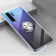 Taltech Finger Ring Kickstand Case for Huawei P30 Pro - Transparent