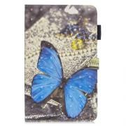 "Taltech Cover for iPad 9.7"" 2017, iPad 9.7"" 2018 & iPad Air - Blue Butterfly"