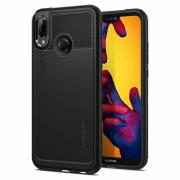 Spigen Marked Armor Case for Huawei P20 Lite - Black