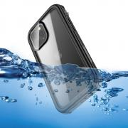 Taltech Waterproof Case IP67 for iPhone 12 Pro Max - Black