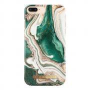 iDeal Fashion Case for iPhone 6-6S-7-8 Plus - Golden Jade Marble