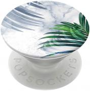 PopSockets Richmond & Finch x PopSockets Phoneholder - White Marble Tropics