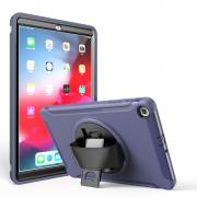 """Taltech Case with Built-in Stand for Samsung Galaxy Tab A 10.1"""" 2019 - Blue"""