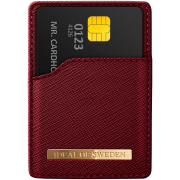iDeal of Sweden IDEAL Magnetic Cardholder Universal - Saffiano Burgundy