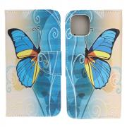 Taltech IPhone 13 mini cover- Blue Butterfly