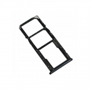Y7 2018 Sim Card Holder Three In One Black