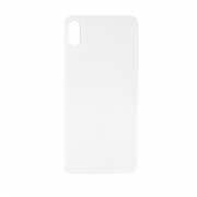 OEM iPhone XS Back Cover Glass - Silver