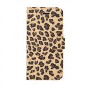 Cover Leopard Pattern for Samsung Galaxy S9 - Brown