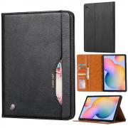 """Taltech Leather Cover for Galaxy Tab S6 Lite 10.4"""" - Black"""