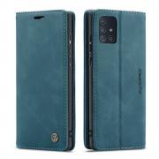 Taltech CASEME 013 Series Wallet Cover for Samsung Galaxy A71 - Green