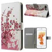 Taltech Wallet Cover for iPhone 7 Plus/8 Plus - Plum Blossom