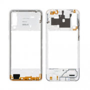 Samsung Galaxy A30s Middle Frame White