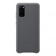 Samsung Samsung Leather Cover for Samsung Galaxy S20 - Grey