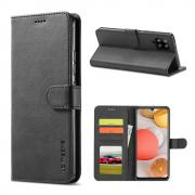 Taltech LC IMEEKE Wallet Cover for Samsung Galaxy A42 - Black