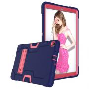 Taltech Hybrid Case with Built-in Stand for Samsung Galaxy Tab A 10.1 2019 - Blue & Pink