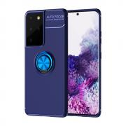 Taltech Samsung Galaxy S21 Ultra Case with Ringholder - Blue
