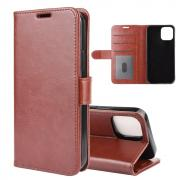 Taltech Premium Wallet Cover for iPhone 12 Mini - Brown