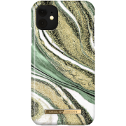 iDeal of Sweden iDeal Fashion Case for iPhone XR/11 - Cosmic Green Swirl