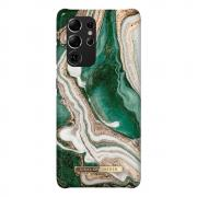 iDeal of Sweden iDeal Fashion Case for Samsung Galaxy S21 Ultra - Golden Jade Marble