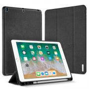 Dux Ducis Tri-Fold Leather Cover for iPad 9.7 2018 - Black