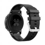 Taltech Silicone Watchband for Samsung Galaxy Watch Active - Black