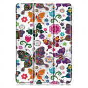 "Taltech Tri-fold Cover with Stand for iPad 10.2"" 2019 - Butterflies"