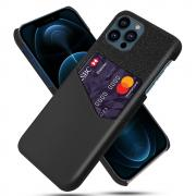 Taltech KSQ iPhone 13 Pro Max case with card holder- Black