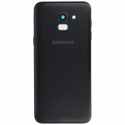 Samsung Galaxy J6 2018 Back Cover Black Duos