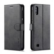 Taltech LC.IMEEKE Wallet Cover for Samsung Galaxy A10 - Black