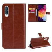 Taltech Crazy Horse Cover for Samsung Galaxy A50 - Brown