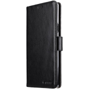 Melkco Classic Wallet Cover for Samsung Galaxy Note 9 - Black