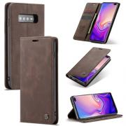 CASEME Cover for Samsung Galax S10 Plus - Coffee
