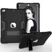 Silicone Case with Stand for iPad 9.7 2017/2018 - Black