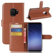 Ltch PU-Leather Cover for Samsung Galaxy S9 - Brown