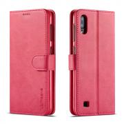 Taltech LC.IMEEKE Wallet Cover for Samsung Galaxy A10 - Red