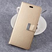 Taltech MERCURY GOOSPERY Wallet Cover for Samsung Galaxy S8 Plus - Gold