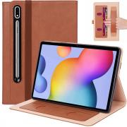 """Taltech Business Cover for Galaxy Tab S7 Plus 12.4"""" - Brown"""