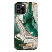 iDeal of Sweden iDeal Of Sweden Fashion iPhone 12 Pro Max Case - Golden Jade Marble