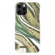 iDeal of Sweden iDeal Fashion Case for iPhone 12/12 Pro - Cosmic Green Swirl