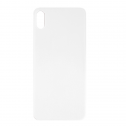 iPhone XS Max Back Cover Glas - Silver