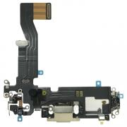 Taltech iPhone 12 Pro Charging Port with Flex Cable - Gold