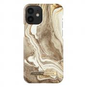 "iDeal of Sweden iDeal Fashion Case for iPhone 12 Mini 5.4"" - Golden Sand Marble"