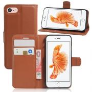 Taltech Litchi Cover for iPhone 7 & 8 - Brown