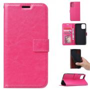 Taltech Crazy Horse Wallet Cover for Samsung Galaxy A41 - Pink